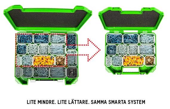 essbox mini grön